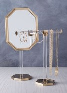 Bianca Jewelry Tree and Vanity Mirror, $39-$79, westelm.com